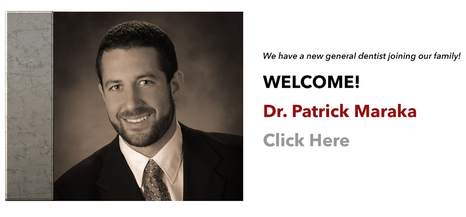 WELCOME, Dr. Patrick Maraka!